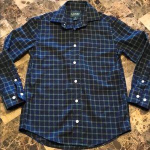 Boys Ralph Lauren plaid dress shirt